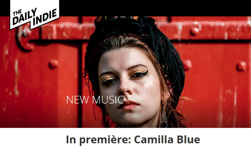 camilla blue daily indie
