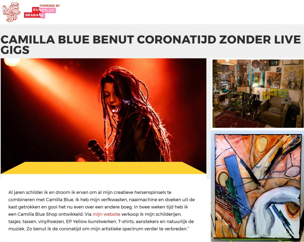 mestmag review camilla blue 2020